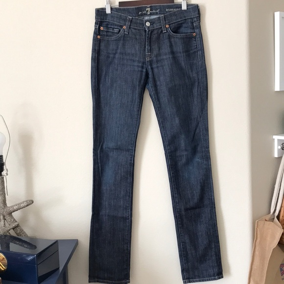 7 For All Mankind Roxanne Jeans In New York Dark